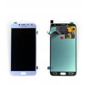 Дисплей модуль Samsung SM J400 OLED J4 Silver 2018