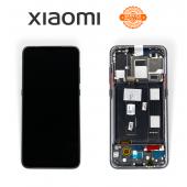 Дисплей Xiaomi Mi 9 Black (560610095033) сервисный оригинал в сборе с рамкой