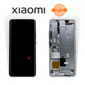 Дисплей Xiaomi Mi Note 10 / 10 Pro / 10 Lite White (5600030F4L00) сервисный оригинал в сборе с рамкой