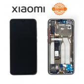 Дисплей Xiaomi Mi 9 SE Black (5606101010B6) сервисный оригинал в сборе с рамкой