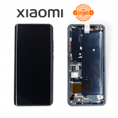 Дисплей Xiaomi Mi Note 10 / Mi Note 10 Pro / Mi Note 10 Lite Black (56000300F400) сервисный оригинал в сборе с рамкой