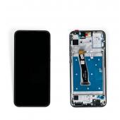 Дисплей Huawei Honor 10 Lite / Honor 20 Lite с сенсором и рамкой, черный (оригинальные комплектующие)