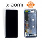 Дисплей Xiaomi Mi 10 Gray (56000J00J200) сервисный оригинал в сборе с рамкой