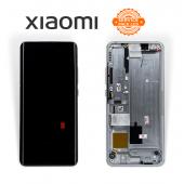 Дисплей Xiaomi Mi Note 10 / Mi Note 10 Pro / Mi Note 10 Lite White (5600030F4L00) сервисный оригинал в сборе с рамкой