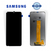 Дисплей Samsung A022 Black А02 2021 (GH81-25250A) сервисный оригинал (без рамки)