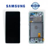 Дисплей Samsung G780 Green S20 FE (GH82-24220D) сервисный оригинал в сборе с рамкой