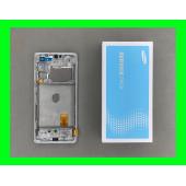 Дисплей Samsung G780 White S20 FE (GH82-24220B) сервисный оригинал в сборе с рамкой