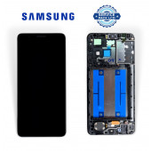 Дисплей Samsung A013 А01 Core 2020 (GH82-23561A) сервисный оригинал с рамкой