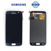 Дисплей Samsung G930 Black S7 (GH97-18523A) сервисный оригинал