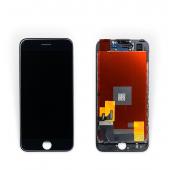 """Дисплей iPhone 7 (4.7"""") Black Original 100% с рамкой (восстановленное стекло)"""