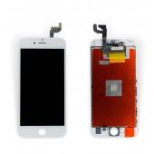 """Дисплей iPhone 6S (4.7"""") White Original 100% с рамкой (восстановленное стекло)"""