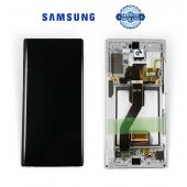 Дисплей Samsung N975 Aura White Note 10+ (GH82-20838B) сервисный оригинал в сборе с рамкой