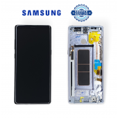 Дисплей Samsung N950 Grey Note 8 (GH97-21065C) сервисный оригинал в сборе с рамкой
