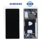 Дисплей Samsung N980 Grey Note 20 (GH82-23622A) сервисный оригинал в сборе с рамкой