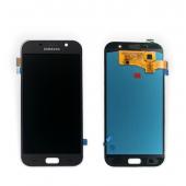 Дисплей модуль Samsung SM A720 OLED A7 Black 2017