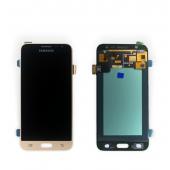 Дисплей модуль Samsung SM J320 OLED J3 Gold 2016