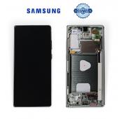 Дисплей Samsung N980 Green Note 20 (GH82-23495C) сервисный оригинал в сборе с рамкой