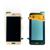 Дисплей модуль Samsung SM J200 OLED J2 Gold 2015