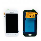 Дисплей модуль Samsung SM J110 OLED J1 White 2015