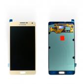 Дисплей модуль Samsung SM A700 OLED A7 Gold 2015